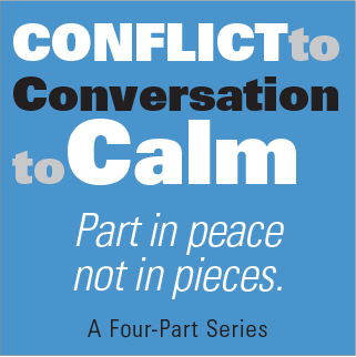 Conflict to Conversation to Calm Series: Deescalating Situations (Fri, September 28, 2018)