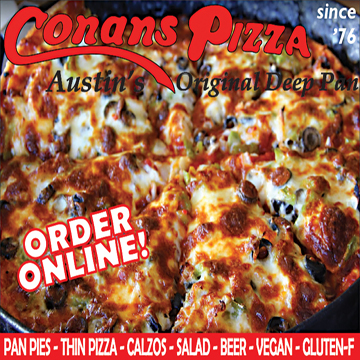 Conans Pizza North