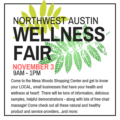 Northwest Austin Wellness Fair with Studio Mantra