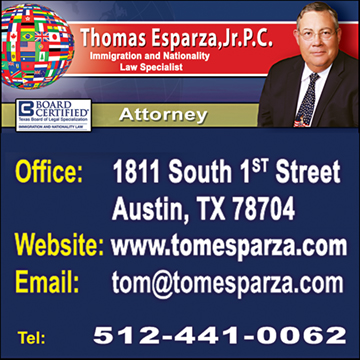 Thomas Esparza, Attorney