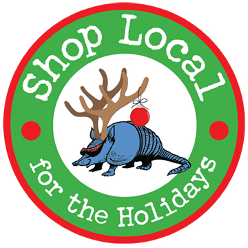 Shop Local for the Holidays Logo