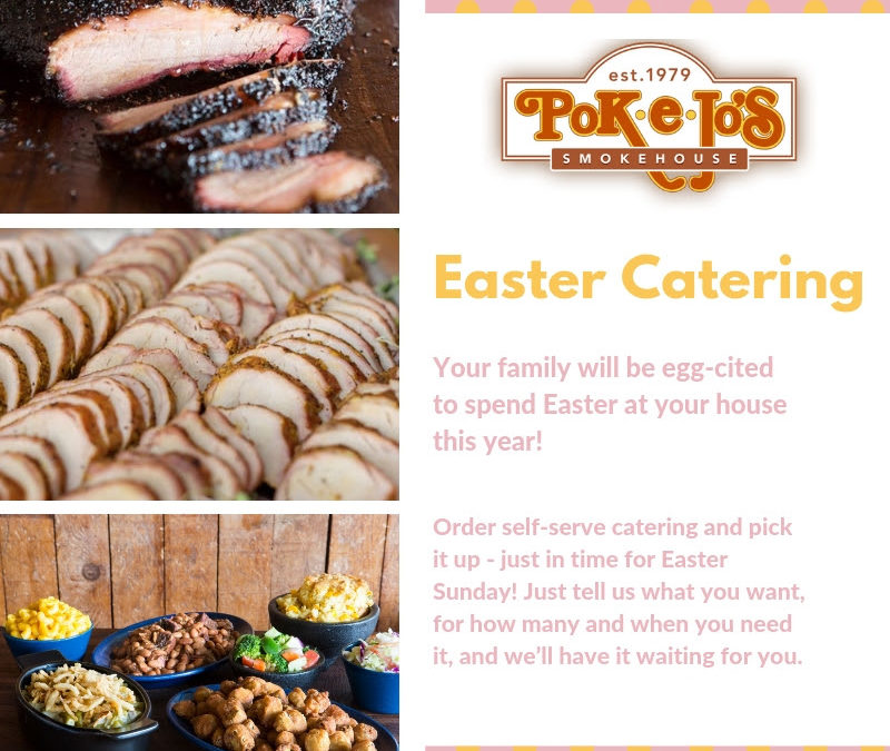 Easter Catering from Pok-e-jos