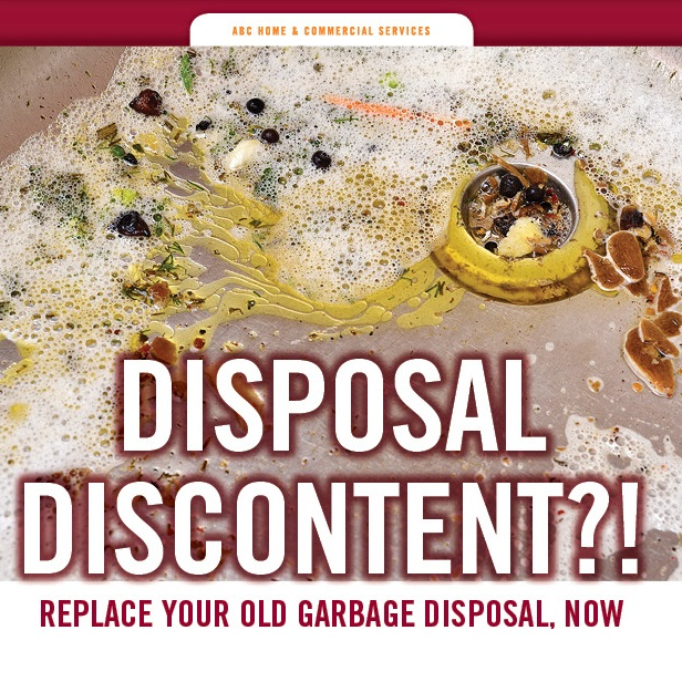 Garbage Disposal Special from ABC Home and Commercial