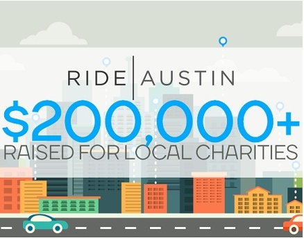 Ride Austin says Thank you!