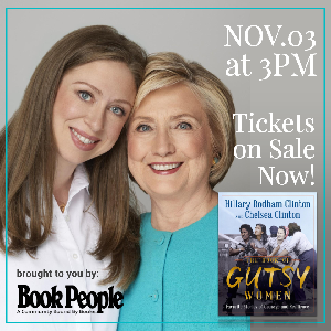 Hillary and Chelsea Clinton at BookPeople
