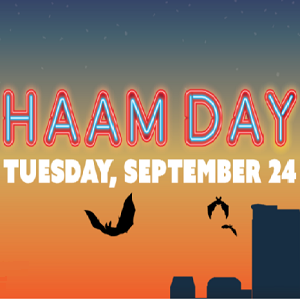 Support HAAM Day Tuesday!