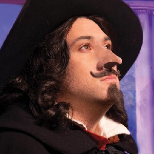 Final weekend for Cyrano De Bergerac at Austin Scottish Rite Theater