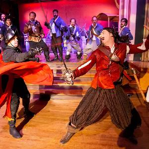Cyrano de Bergerac and More at Austin Scottish Rite Theater
