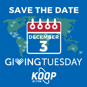 KOOP Spinning and Giving!