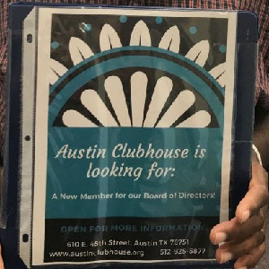 Join Austin Clubhouse's Board Of Directors