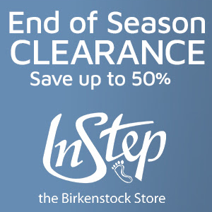 End Of Season Sale at InStep