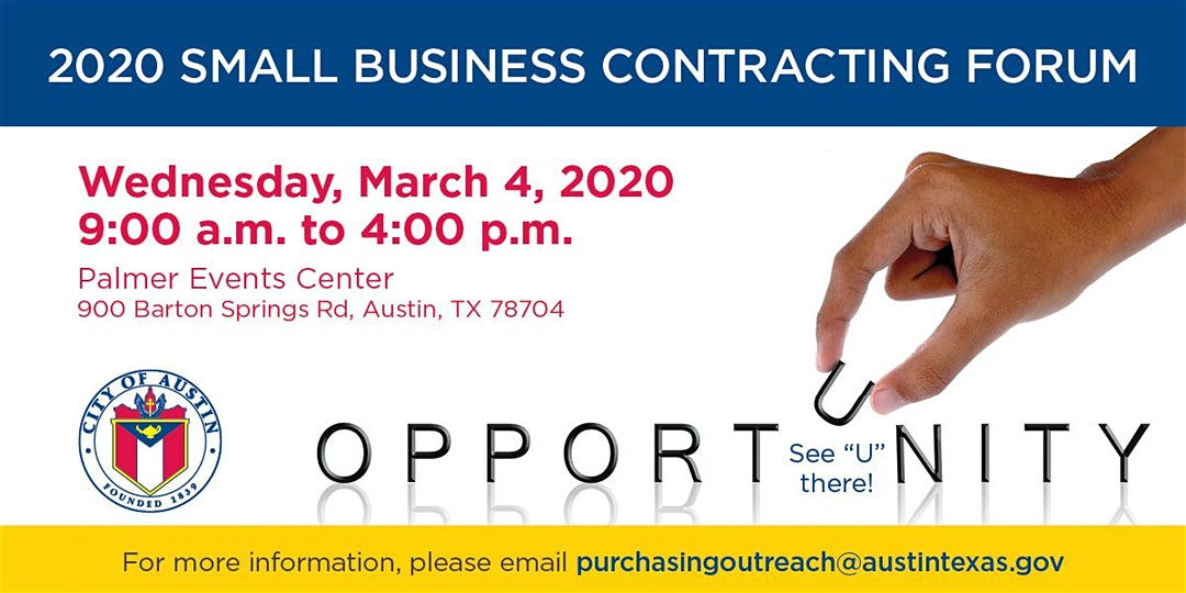 City of Austin 2nd Annual 2020 Small Business Contracting Forum