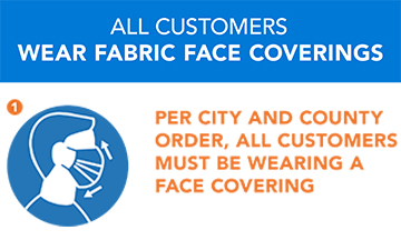 New Mandatory Face Covering Requirements