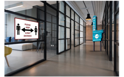 COVID Signage From MILLER Imaging & Digital Solutions